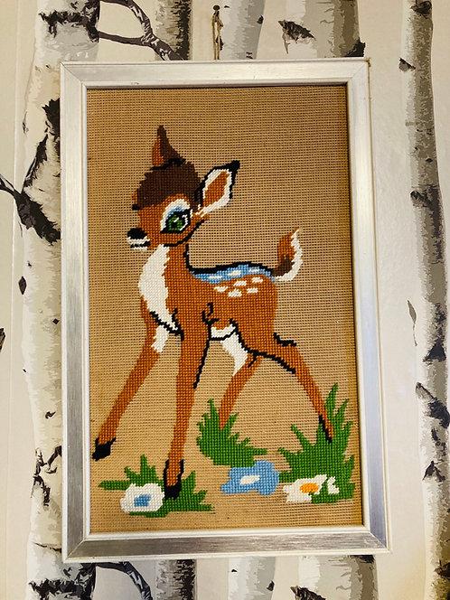 Cadre canevas Bambi