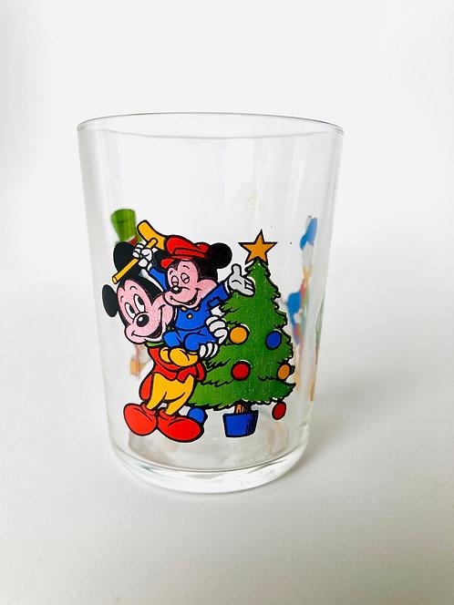 Verre Mickey Noël