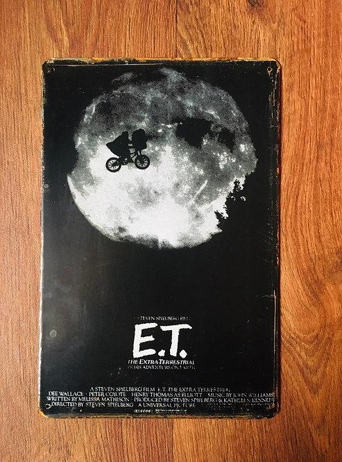 Plaque E.T