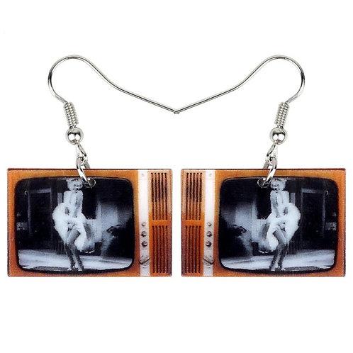 Boucles d'oreilles TV Marilyn