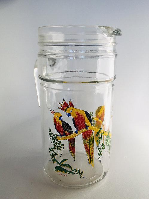 Pichet perroquet