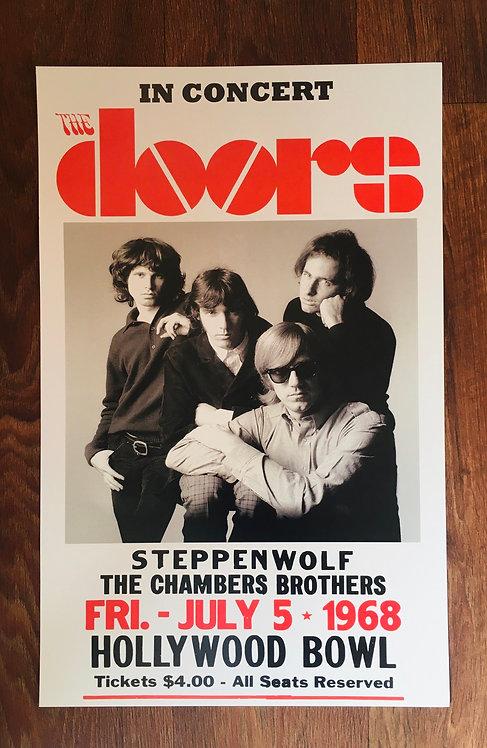 Affiche de concert The Doors