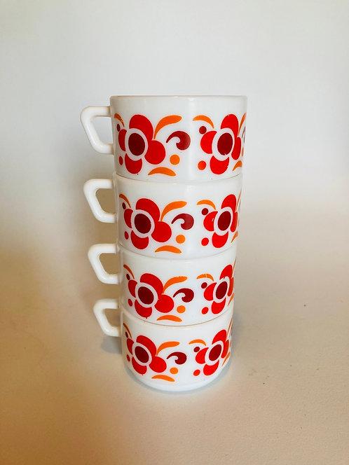 Ensemble tasses arcopal Knorr