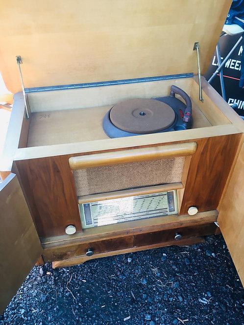 Meuble vinyle vintage