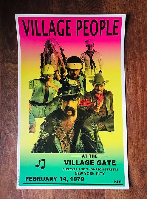 Affiche Village People 1979