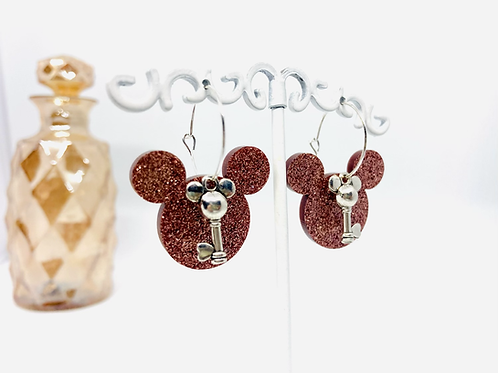 Boucles d'oreilles Mickey