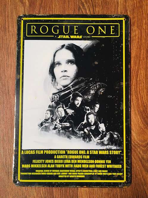 Plaque Rogue One