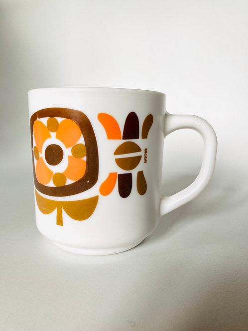 Mug arcopal Mobil orange marron