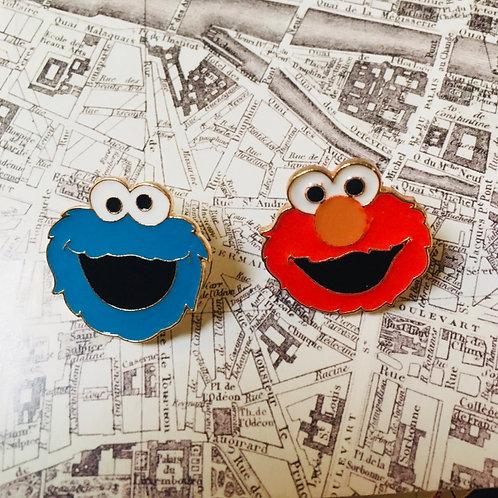 Pin's Sesame Street