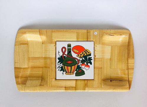 Petit plateau apéritif en bambou