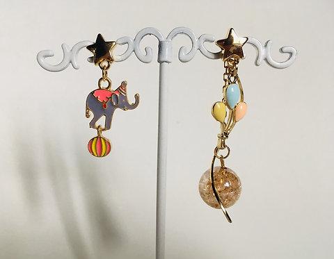 Boucles d'oreilles Dumbo 🐘🎪