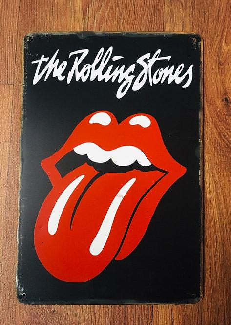 Plaque Rolling Stones