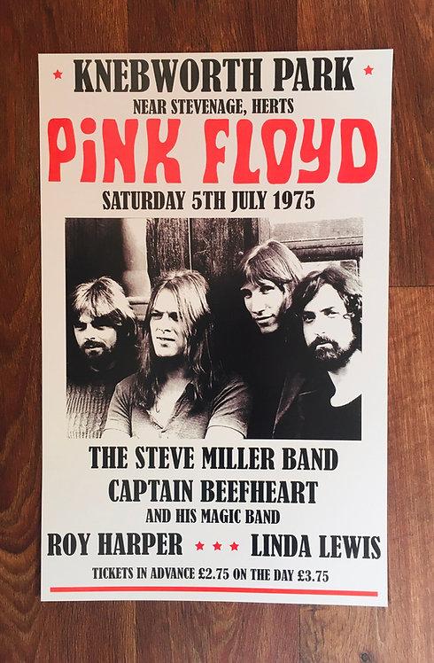 Affiche de concert Pink Floyd