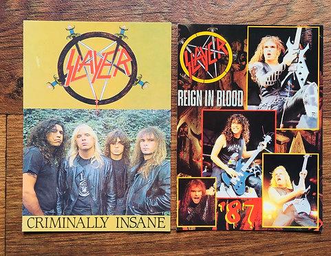 Cartes Postales Slayer