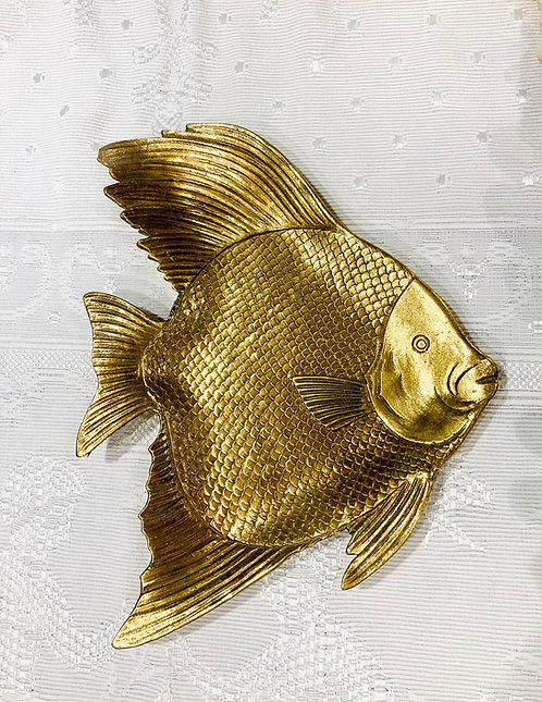 Plateau poisson doré