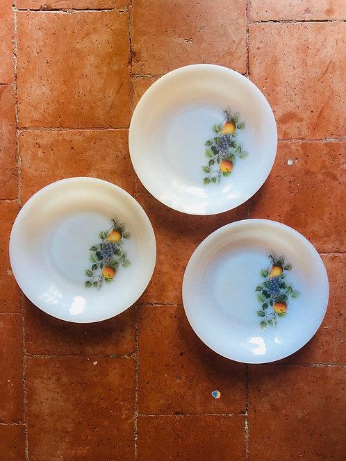 Assiettes creuses Arcopal Fruits de France