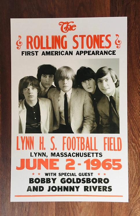 Affiche de concert The Rolling Stones