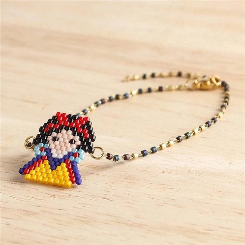 Bracelet perle Blanche-Neige