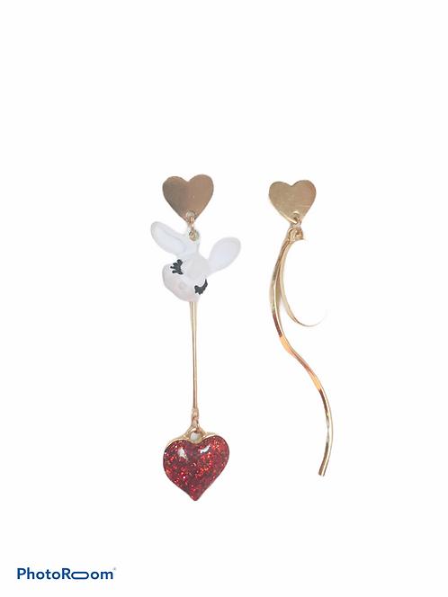 Boucles d'oreilles Lapin Alice