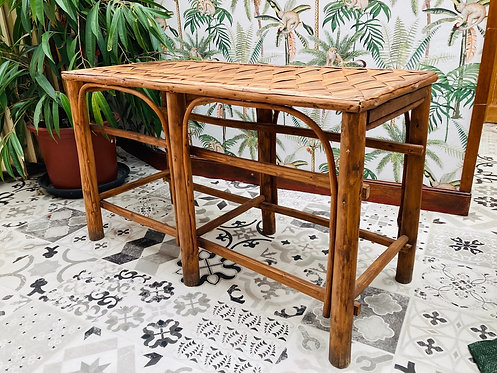 Table rotin style Louis Sognot