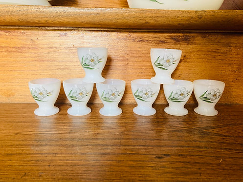 8 coquetiers arcopal narcisse
