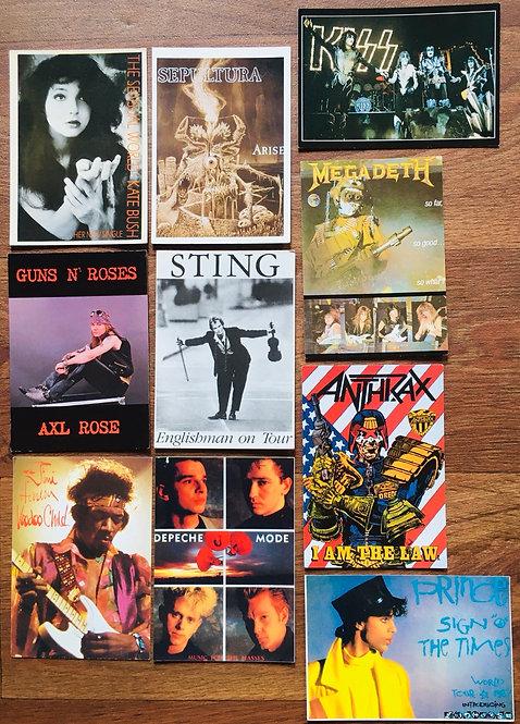 Cartes postales Groupe de musique
