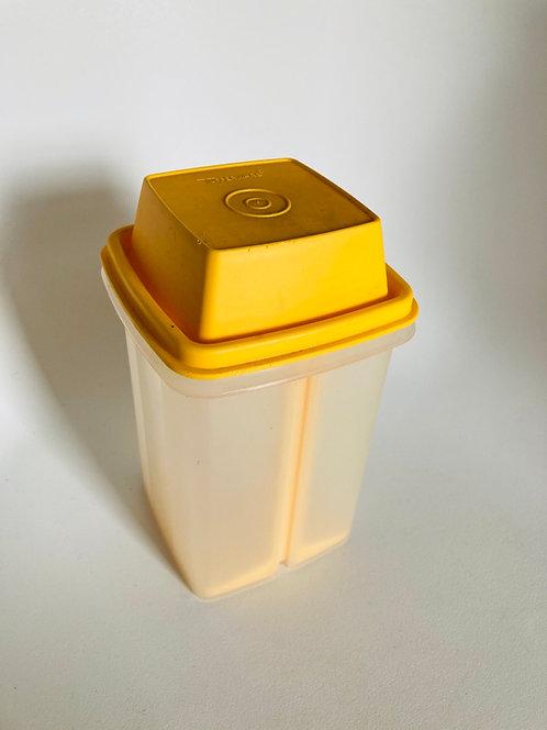 Pot à cornichons Tupperware jaune