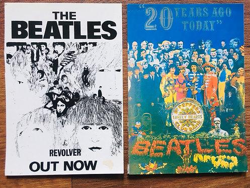 Cartes postales The Beatles