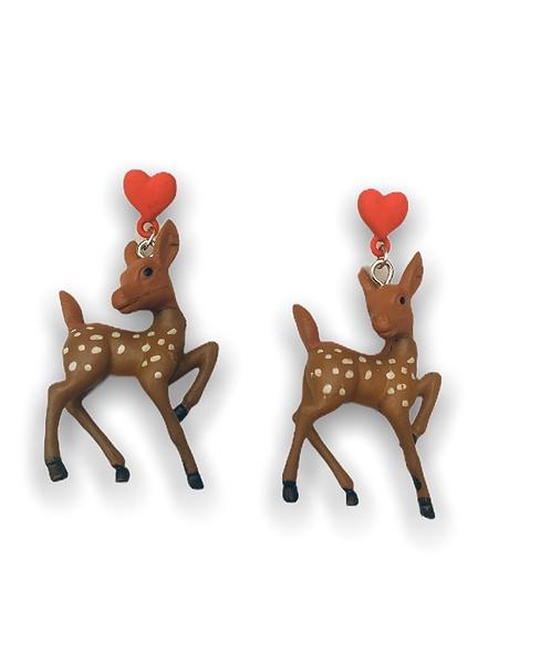 Boucles d'oreilles Bambi