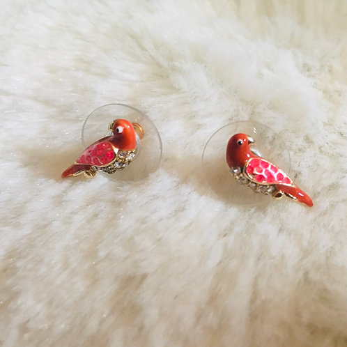 Boucles d'oreilles Oiseaux