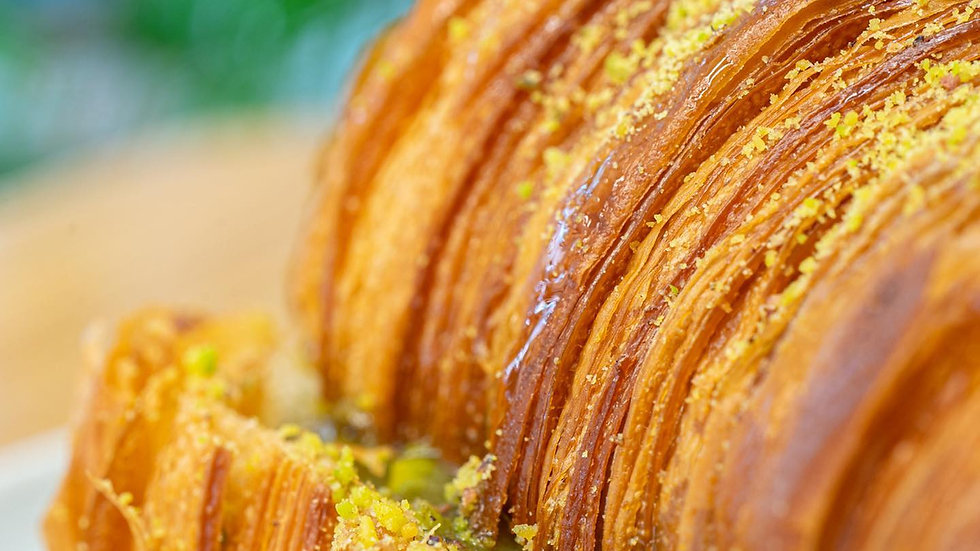 Freya pisztáciakrémes croissant/db