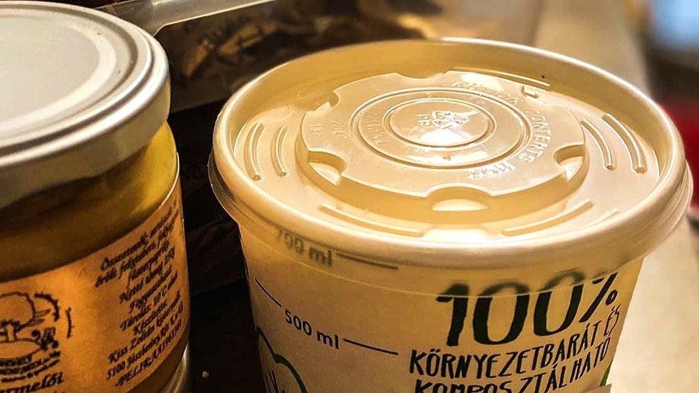 Házi sült sertészsír 500g