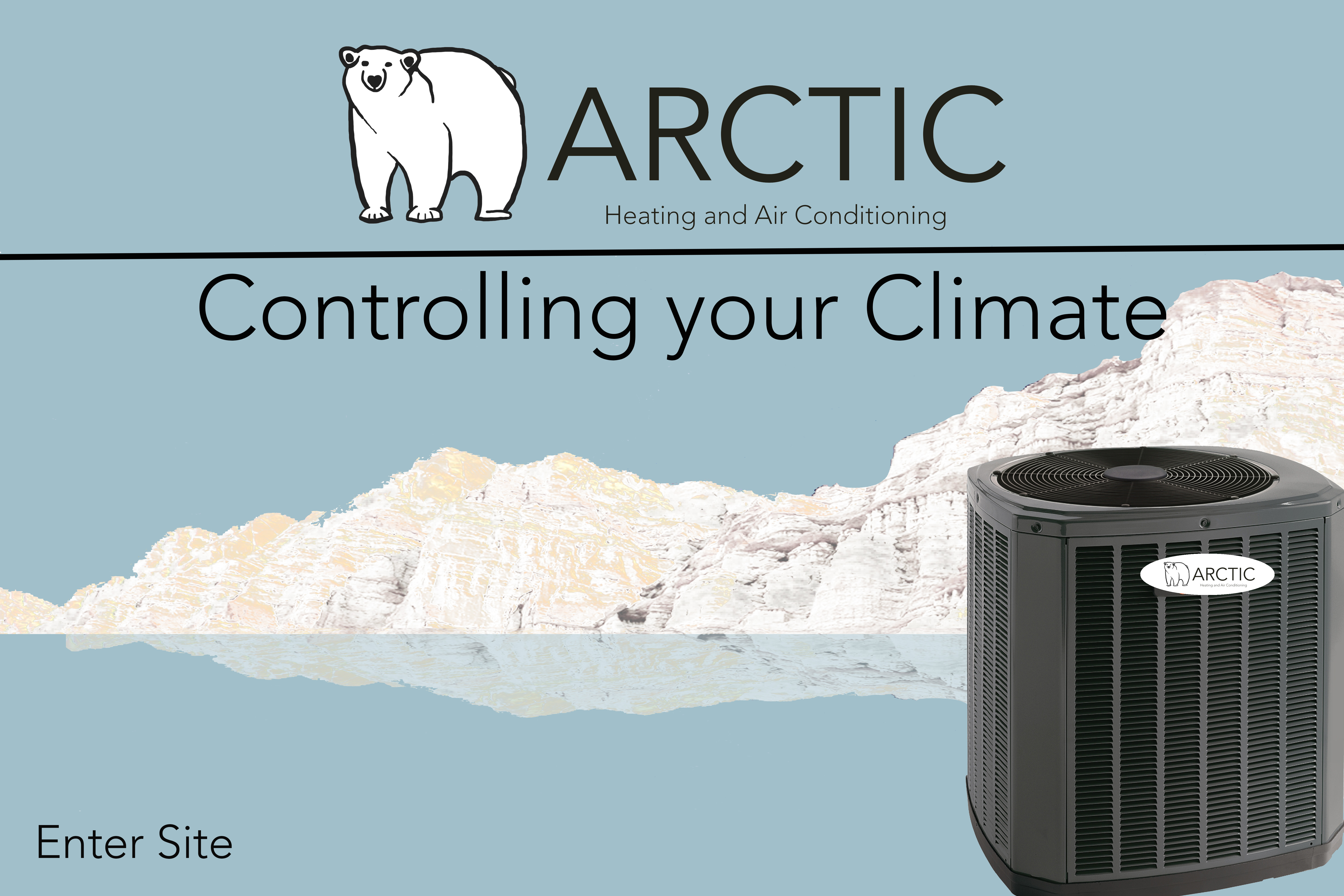 arctic splash page