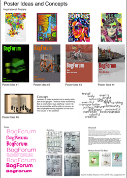 Poster Ideas and Concepts