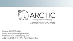 arctic business card