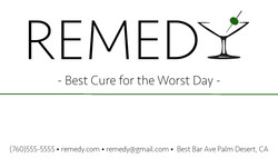 Remedybusinesscard