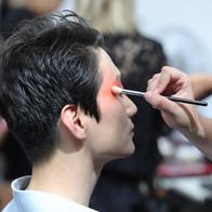 Shooting école IFA agence yuzu défilé mode maquillage coiffure photo video