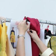 Shooting école IFA agence yuzu défilé mode mannequin fashion coiffure maquillage tendance