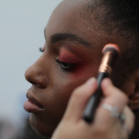 Shooting école IFA agence yuzu défilé mode mannequin photo video style photo video maquillage