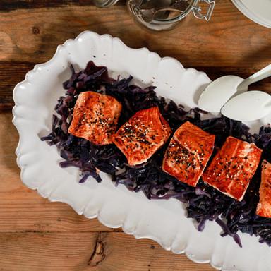 saumon choux sesame photo shoot agence Yuzu