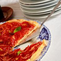 pizza italienne basilic photo shoot agence Yuzu