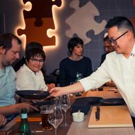 Goma Restaurant Omakase Agence Yuzu Chef Eric Ticana japonais marne la vallée table convives