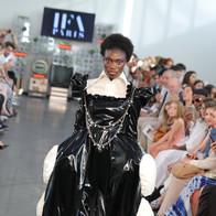 Shooting école IFA agence yuzu défilé mode maquillage mannequin maquillage collection créateur