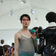 Shooting école IFA agence yuzu défilé mode créateur fashion
