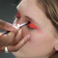 Shooting école IFA agence yuzu défilé mode maquillage coiffure créateur