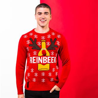 Adults Reinbeer Christmas jumper
