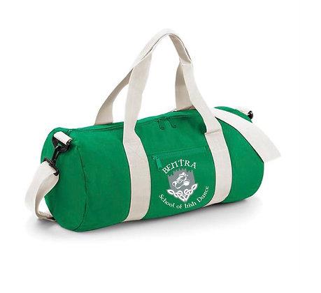Bentra School of Irish Dance Barrel Bag