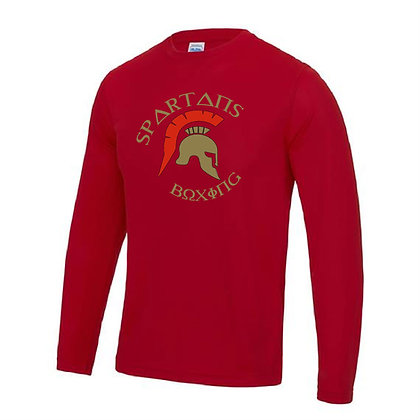 Spartan's Gym Men's Long Sleeve Crew