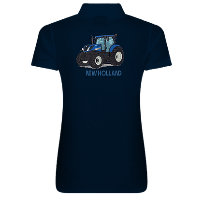 New Holland Ladies Back Polo