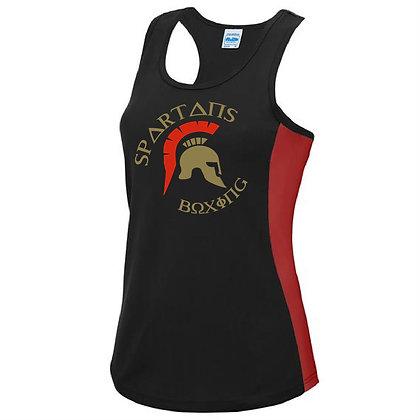 Spartan's Gym Women's Contrast Performance Vest